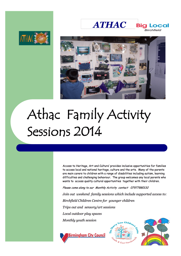 Athac Family Activity session flyer 2014 june-1