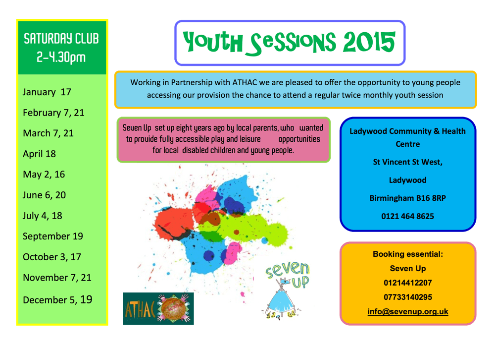 Youth Session seven up 2015